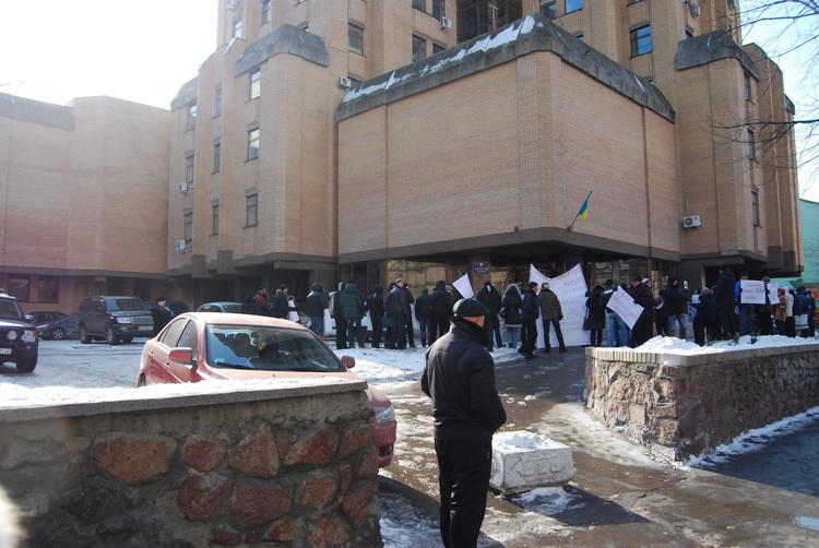Министерство юстиции, митинг 18.02.2011
