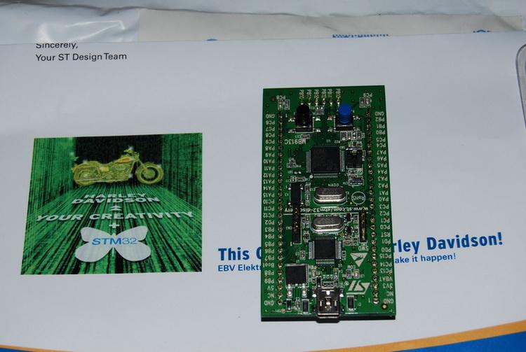 STM32 evalution board