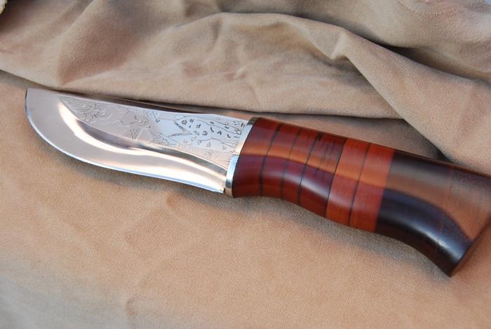 Нож, олень